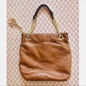 Michael Kors Bags - Michael Kors Brown Leather Handbag Purse